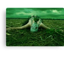 Resting between Heaven and Hell Canvas Print