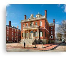 Salem Custom House - Historic New England Canvas Print