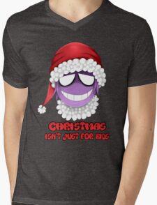Purple guy - Christmas isn't just for kids Mens V-Neck T-Shirt