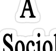 I Married A Hot Sociology Teacher Sticker