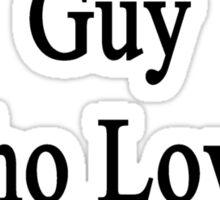 I'm That Hot Guy Who Loves Sociology Sticker