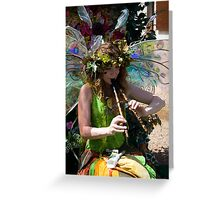 Faerie's Flute Greeting Card