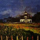 POINT PINOS LIGHTHOUSE PAINTED by michaelgabriel