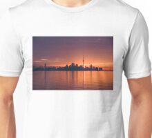 Bright and Orange Toronto Sunrise Unisex T-Shirt