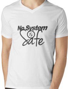 No System is Safe Mens V-Neck T-Shirt