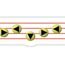 Ocarina Melodies - Saria's Song Sticker