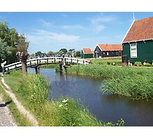 The Netherlands Countryside in Spring Photographic Print