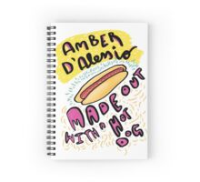 Mean Girls - Amber D'lessio Spiral Notebook