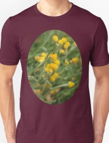 Yellow Flowers. Unisex T-Shirt