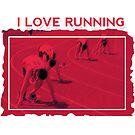 I Love Running by noeljerke