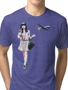 The Higgs Boson God T-Shirt Tri-blend T-Shirt