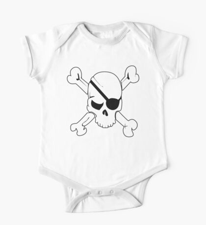 Pirate Flag One Piece - Short Sleeve