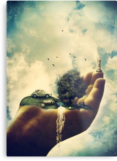 A Little Piece of Heaven by Sybille Sterk