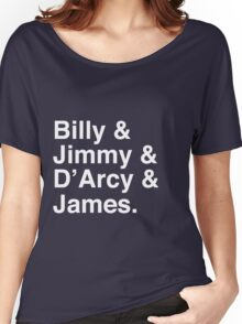 Billy & Jimmy & D'Arcy & James Smashing Pumpkins T-Shirt Women's Relaxed Fit T-Shirt