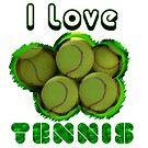 I Love Tennis by noeljerke