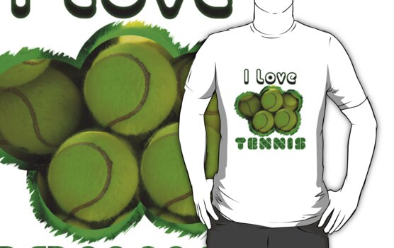 I Love Tennis by noeljerke