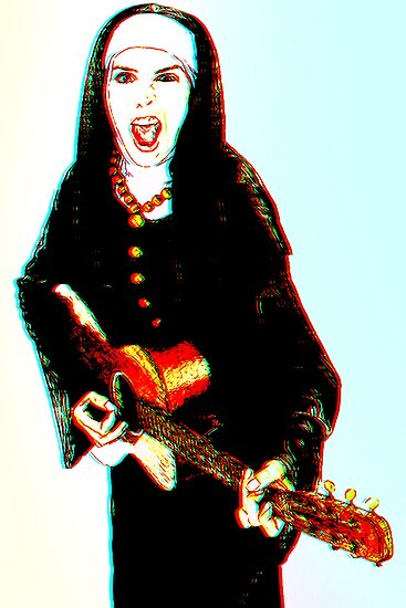 The 3D Rock'n Nun by David Rozansky