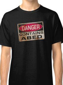 DANGER! Contains nerd Classic T-Shirt