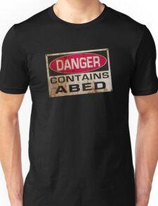 DANGER! Contains nerd Unisex T-Shirt