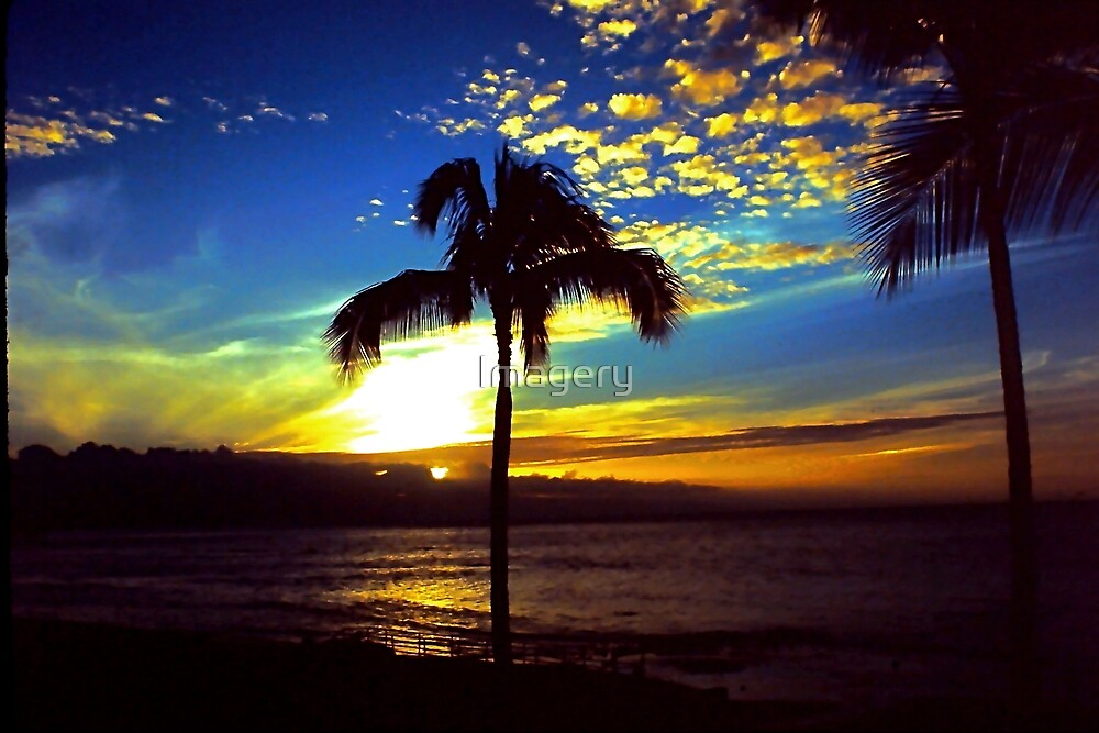 West Maui Sunset by Imagery