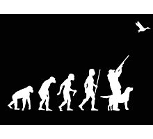 Duck Hunting Evolution T Shirt Photographic Print