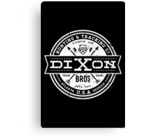Dixon Bros. - White Version Canvas Print