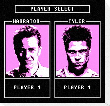 Fight Club: Player select by dutyfreak