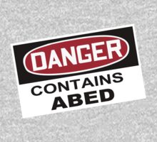 DANGER: Contains Abed One Piece - Long Sleeve