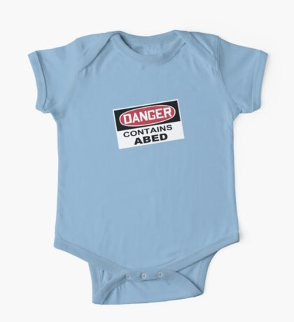 DANGER: Contains Abed One Piece - Short Sleeve