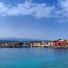 Chaniá Harbour, Crete by Simon Bowen