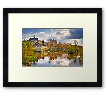 Montreuil-Bellay Framed Print