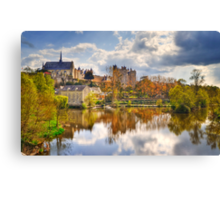 Montreuil-Bellay Canvas Print
