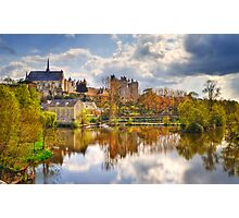 Montreuil-Bellay Photographic Print