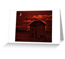 Roost Before Sunrise Greeting Card