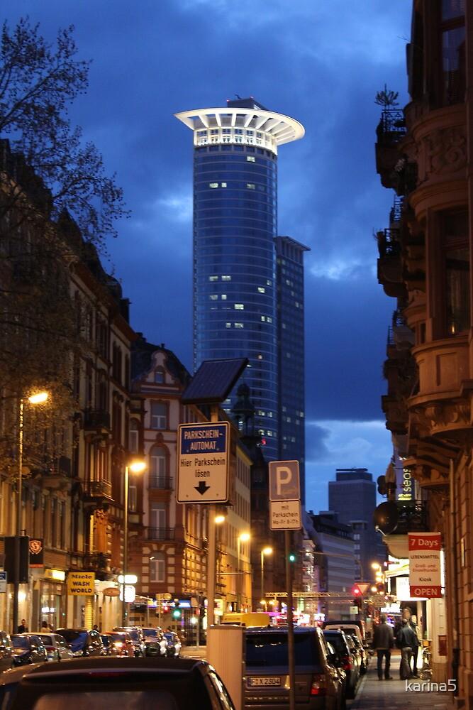 Downtown Frankfurt / Main by karina5