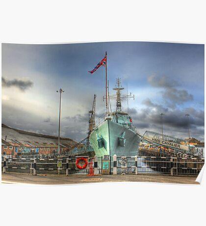 HMS Cavalier (R73) Poster
