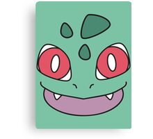 #001 - Bulbasaur Canvas Print