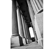 State House Columns Photographic Print