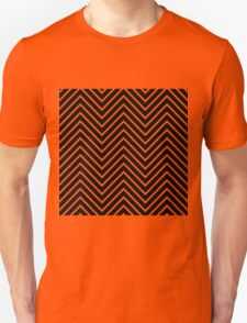 Black and White Chevron Unisex T-Shirt
