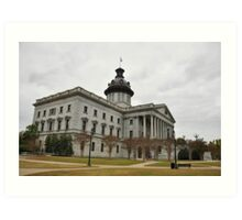 Columbia SC State House Art Print