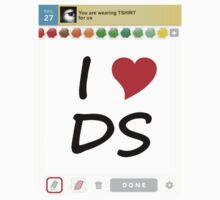 I Heart DS (Light Tshirt) by jaysalt