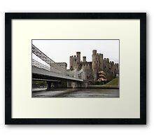 Conwy castle. Framed Print