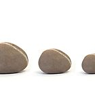 Three Pebbles by Natalie Kinnear