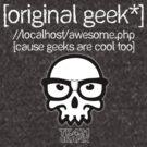 Original Geek* T-Shirt - For dark colors by [original geek*] clothing