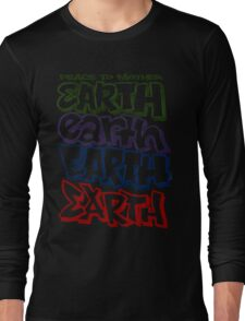 Peace To Mother Earth Long Sleeve T-Shirt
