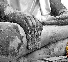 """Earth Witness"" Buddha by fernblacker"