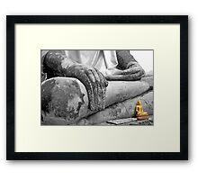"""Earth Witness"" Buddha Framed Print"