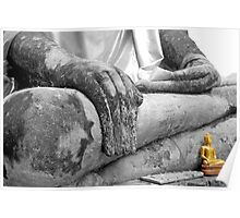 """Earth Witness"" Buddha Poster"