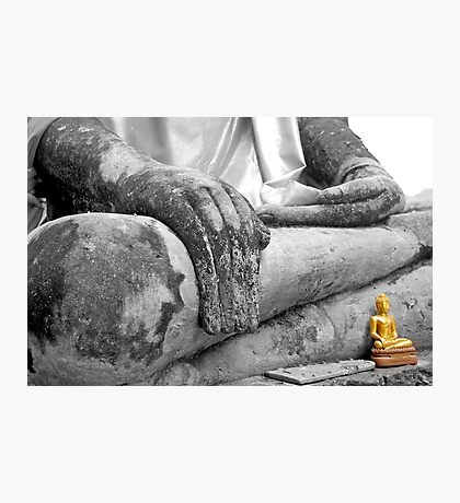 """Earth Witness"" Buddha Photographic Print"