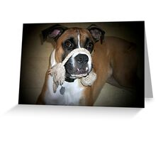 Have you seen my rope Mom? Greeting Card